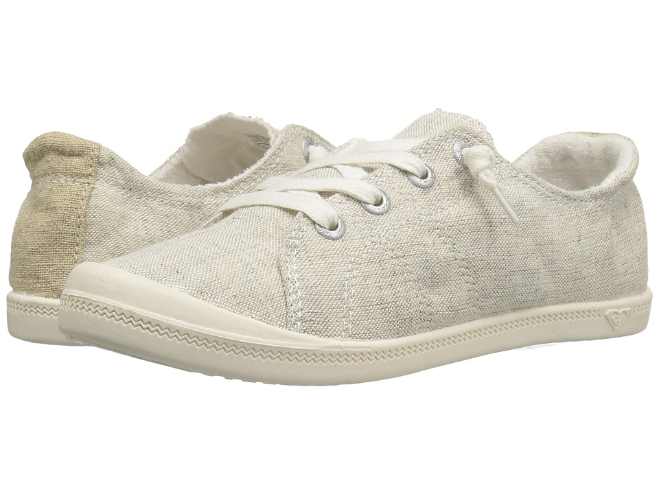 Roxy - Rory (Light Grey) Women's Lace up casual Shoes