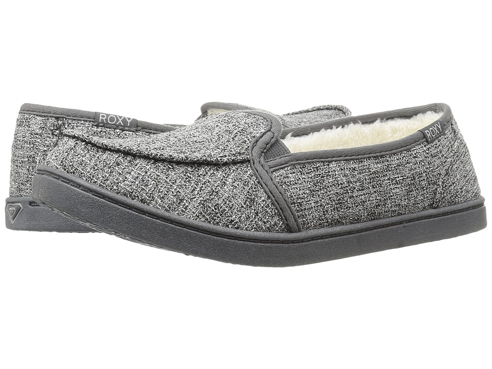 Roxy - Lido Wool III (Grey Ash) Women's Slip on Shoes