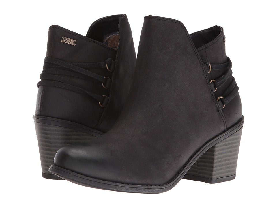 Roxy - Dulce (Black) Women's Wedge Shoes