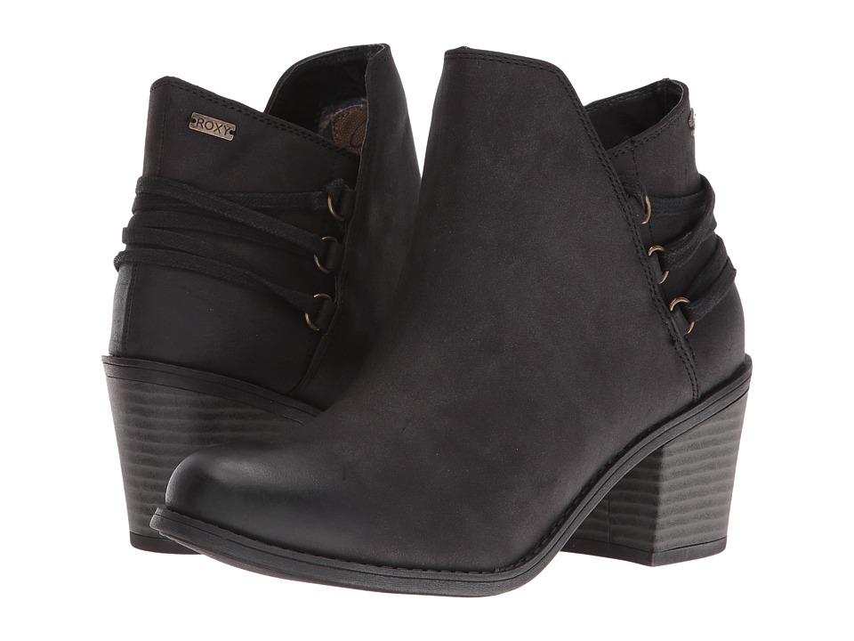 Roxy - Dulce (Black) Women's Wedge Shoes
