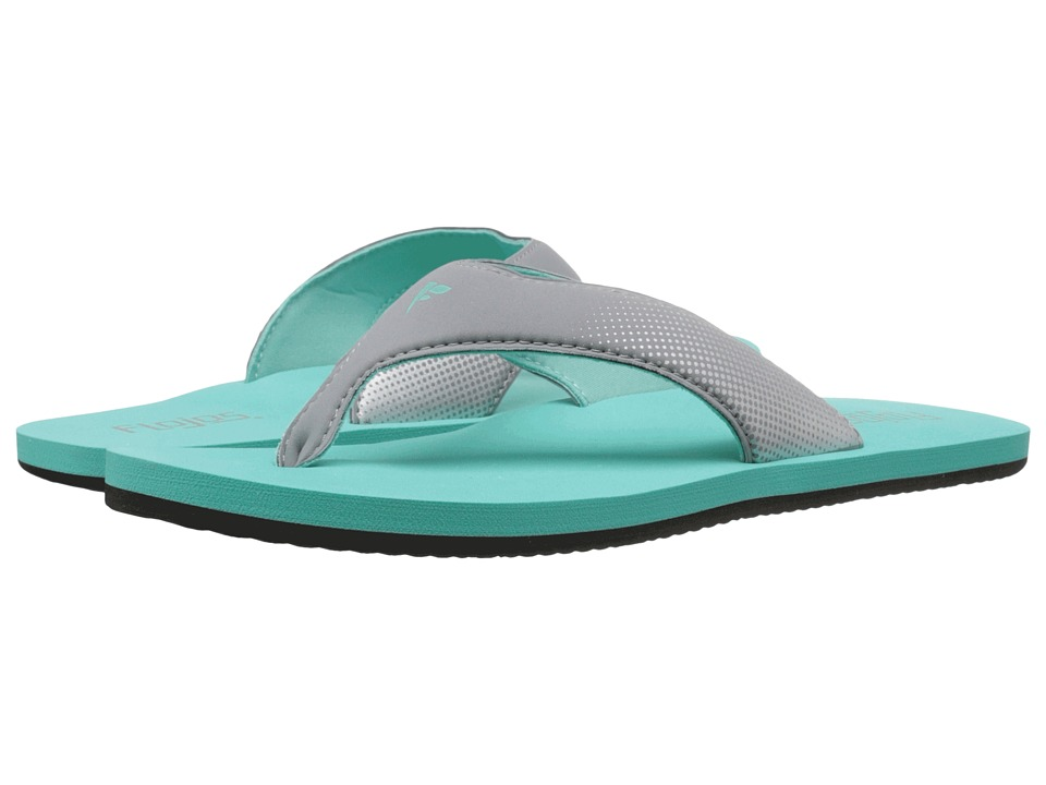 Flojos Flash (Gray/Turquoise) Women