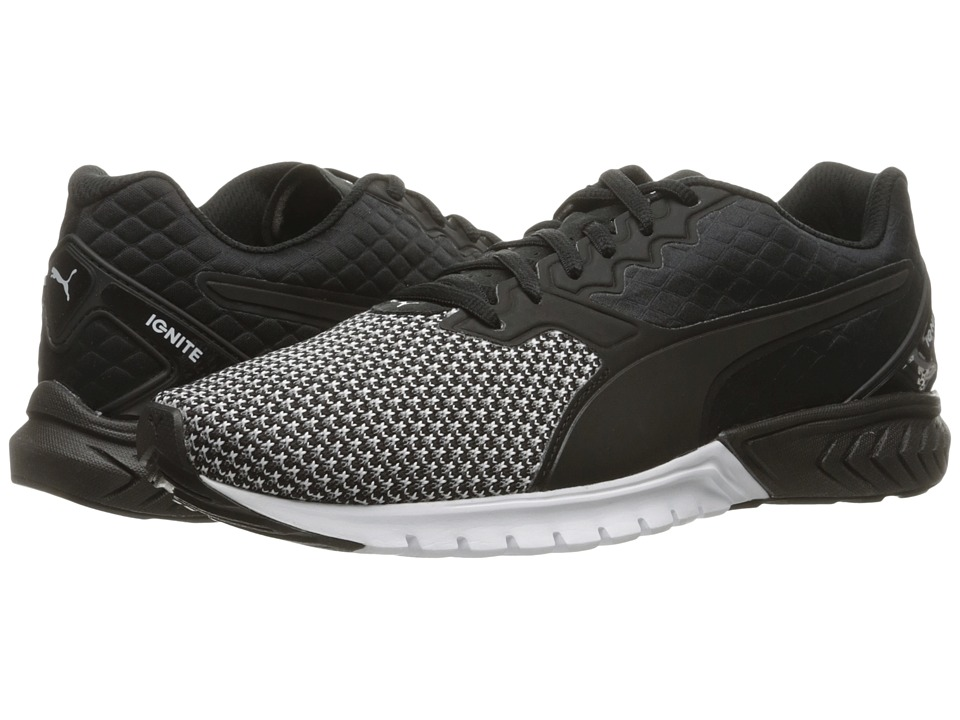 PUMA - Ignite Dual Nylon (Puma Black/Puma White) Women's Shoes