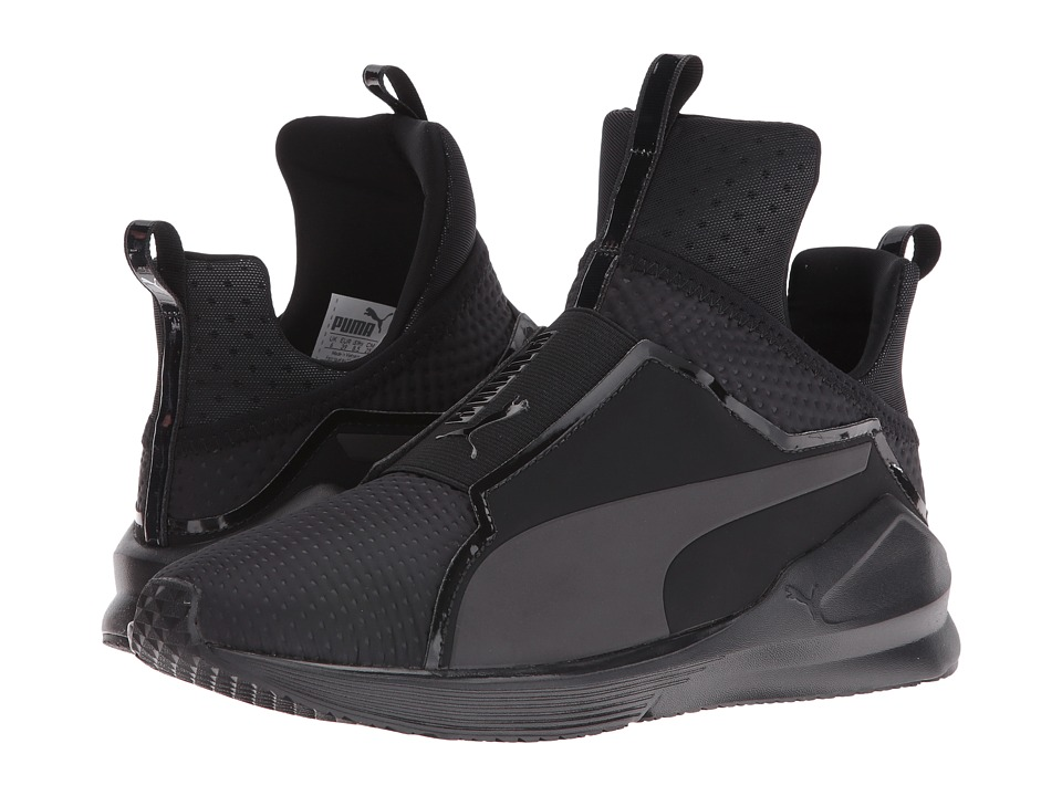PUMA Fierce Quilted (Puma Black/Puma Black) Women