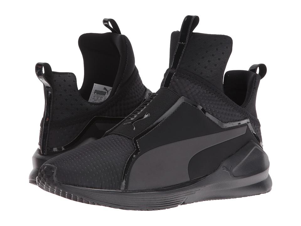 PUMA - Fierce Quilted (Puma Black/Puma Black) Women's Shoes