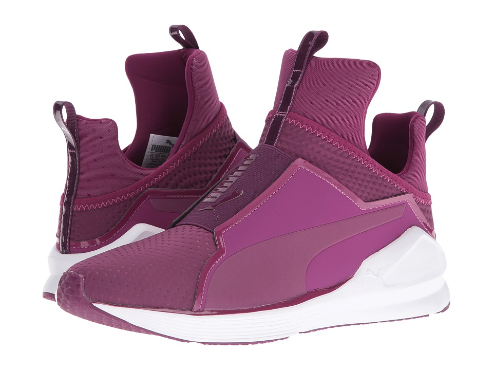 PUMA - Fierce Quilted (Magenta Purple/Puma White) Women's Shoes