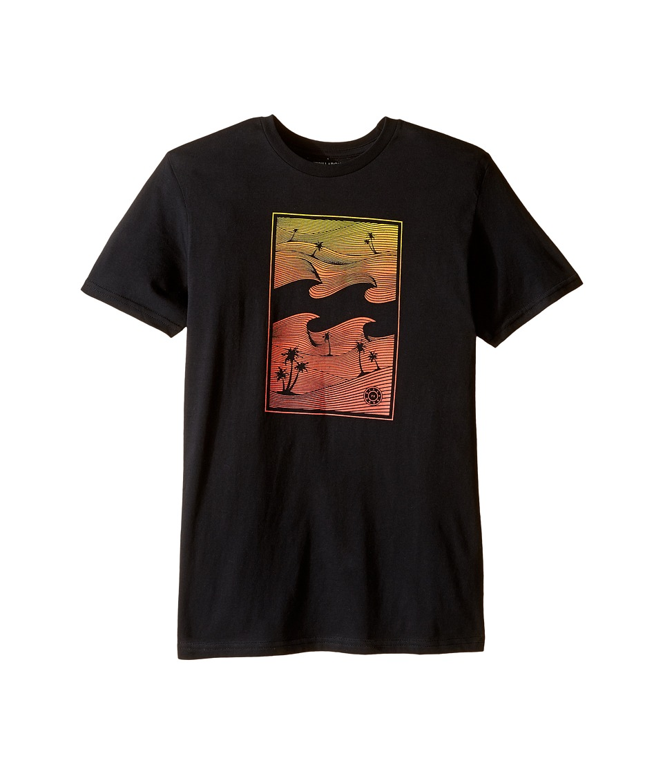 Billabong Kids - Wavetrip T-Shirt (Big Kids) (Black) Boy's T Shirt