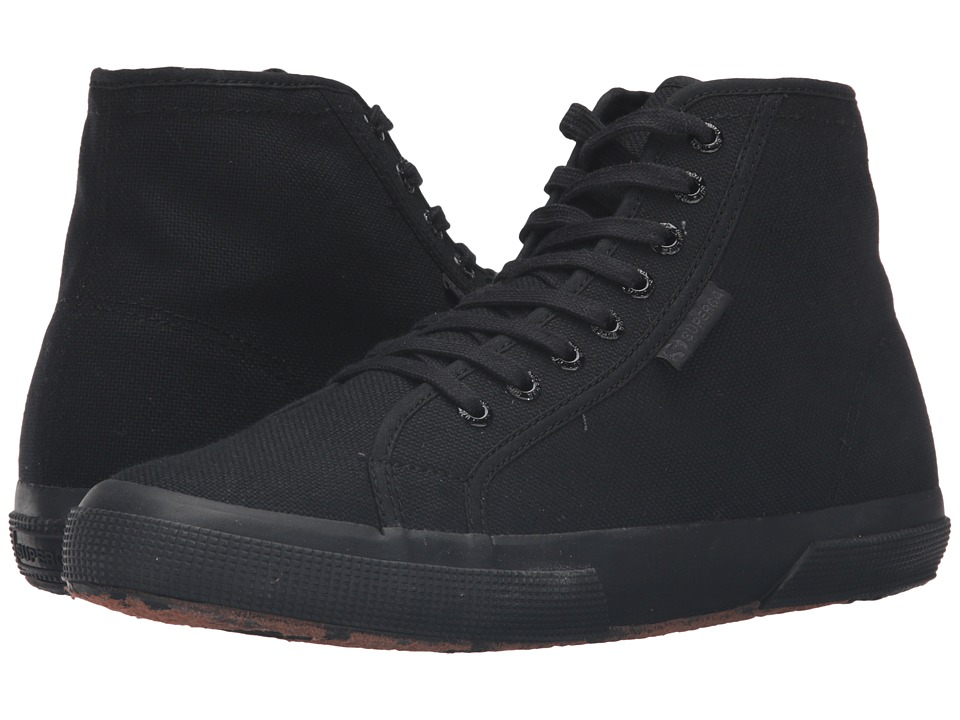 Superga - 2795 Cotu (Total Black) Men's Lace up casual Shoes