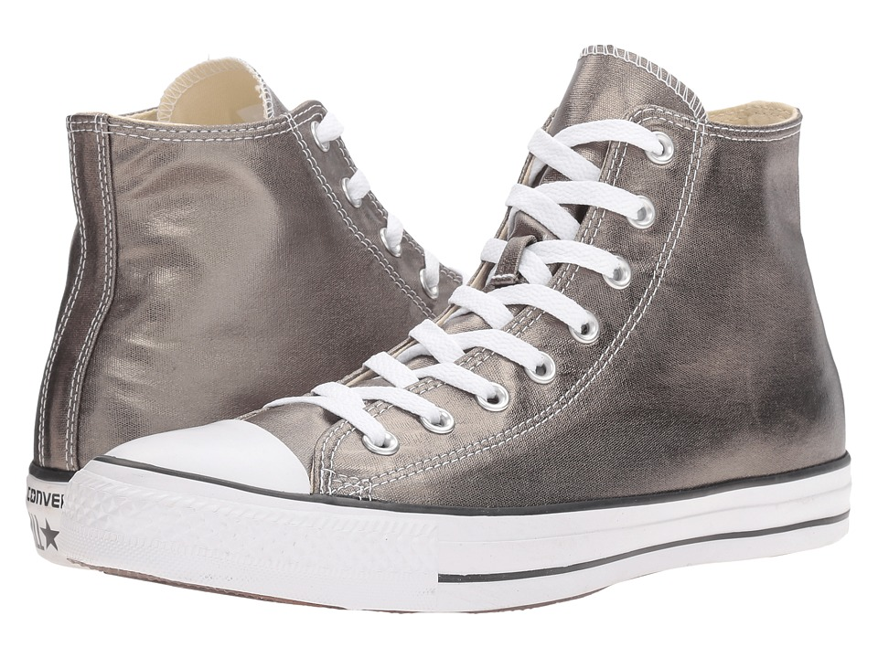 Converse Chuck Taylor All Star Metallic Canvas Hi (Metallic Herbal/White/Black) Athletic Shoes