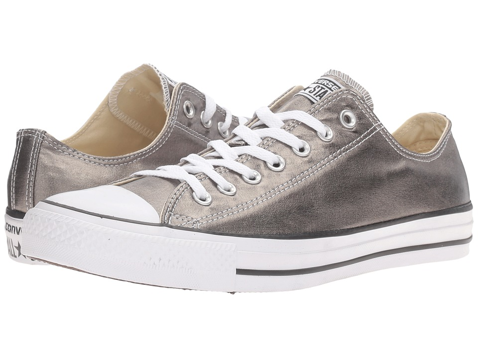 Converse Chuck Taylor All Star Metallic Canvas Ox (Metallic Herbal/White/Black) Athletic Shoes