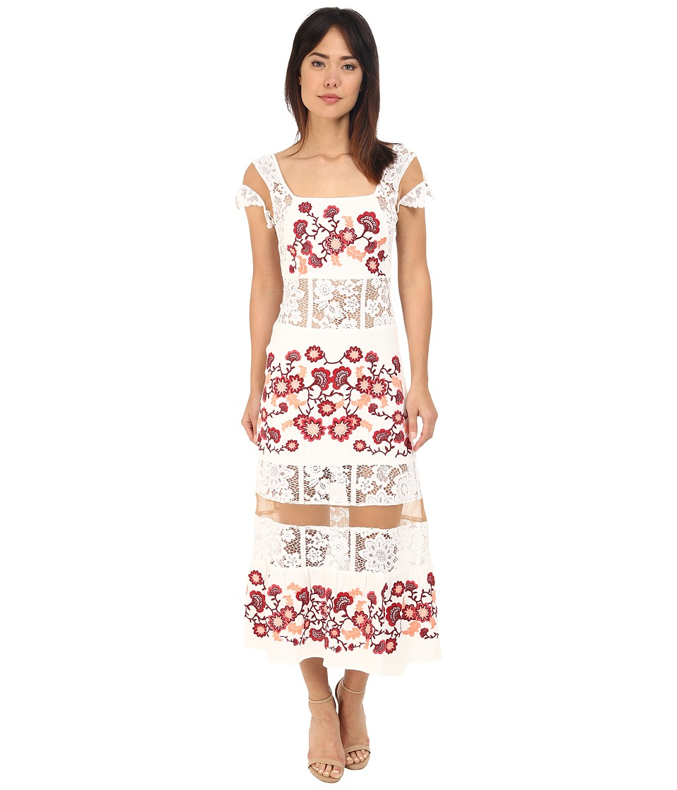 For Love and Lemons - Cecelia Dress (White) Women's Dress