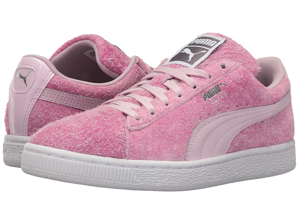 PUMA - Suede Elemental (Lilac Snow/Puma White) Women's Shoes