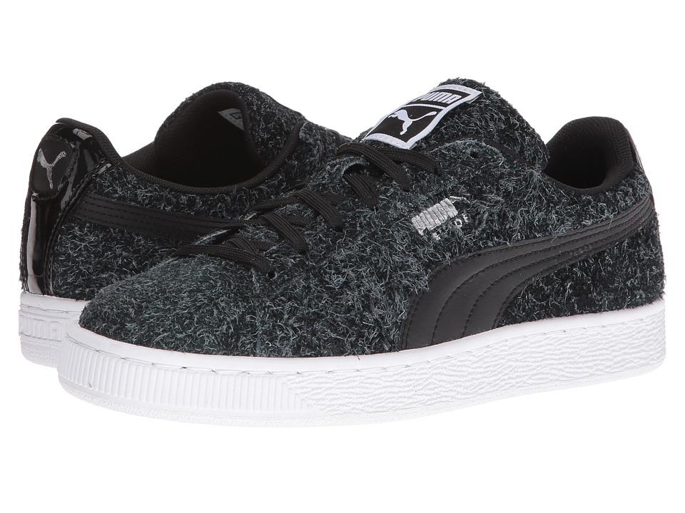 PUMA - Suede Elemental (Puma Black/Puma White) Women's Shoes