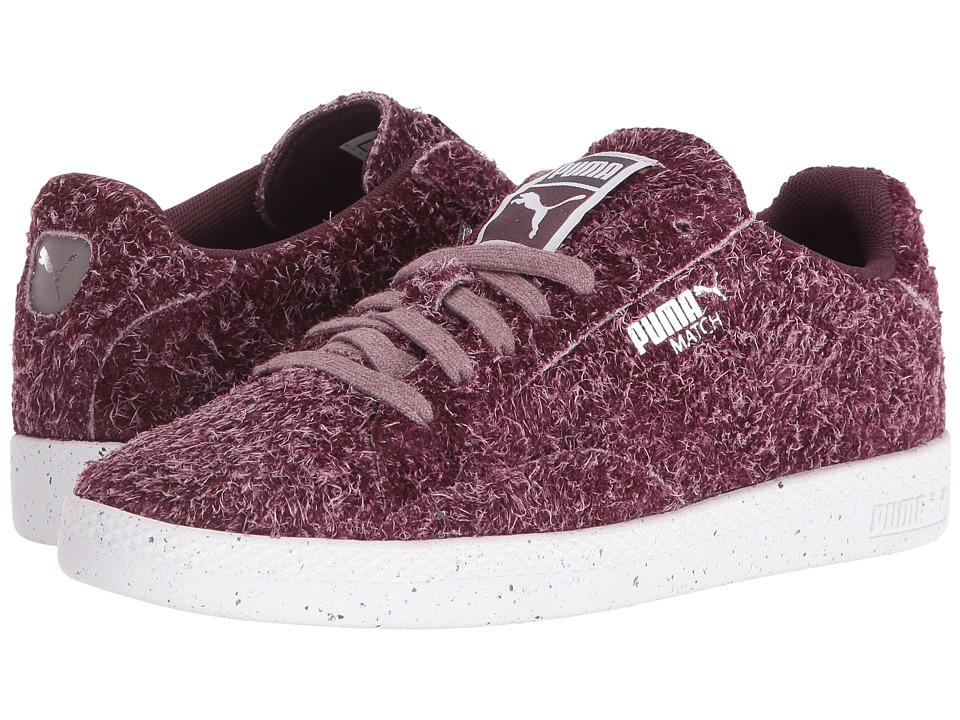 PUMA - Match Lo Elemental (Wine Tasting/Puma White) Women's Shoes