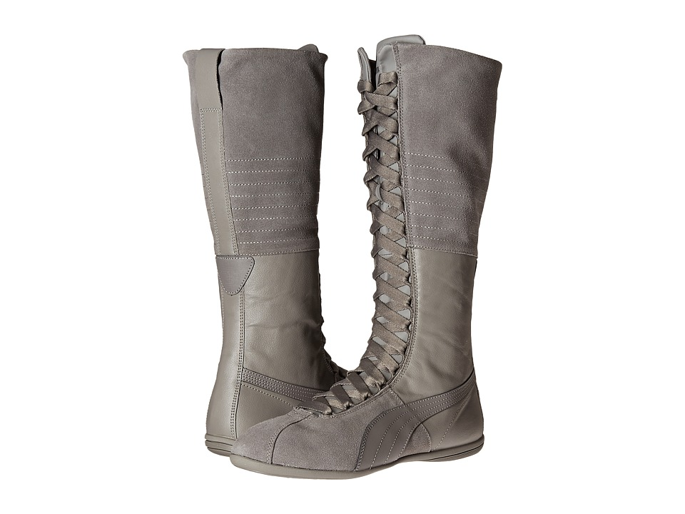 PUMA - Eskiva Very Hi (Steel Gray) Women's Boots