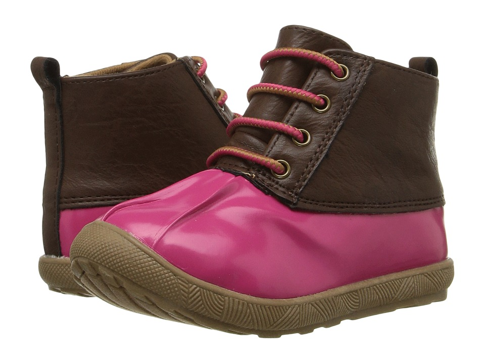 Baby Deer - Duck Boot (Infant/Toddler) (Fuchsia) Girls Shoes