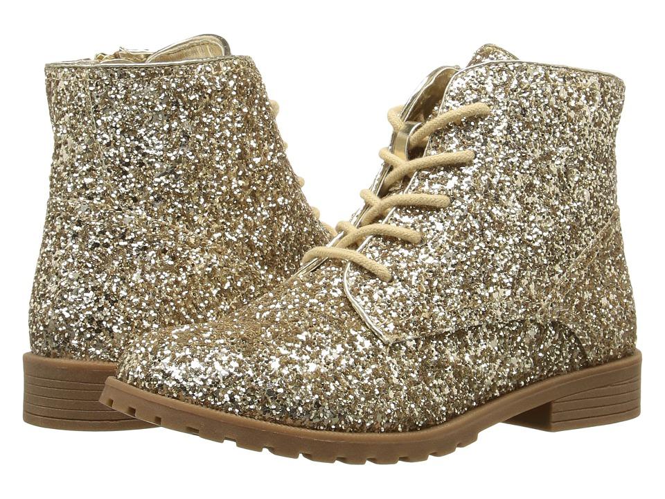 Nina Kids - Carleigh (Toddler/Little Kid/Big Kid) (Platino Glitter) Girls Shoes
