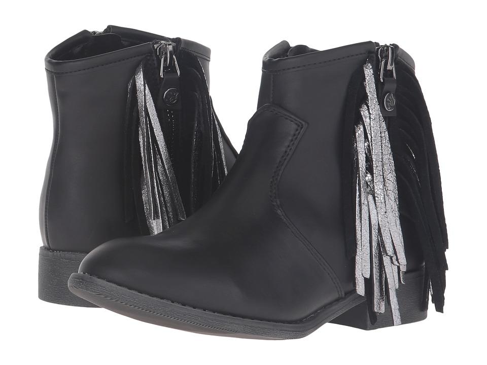 Nina Kids Anareena (Little Kid/Big Kid) (Black Burnished) Girls Shoes