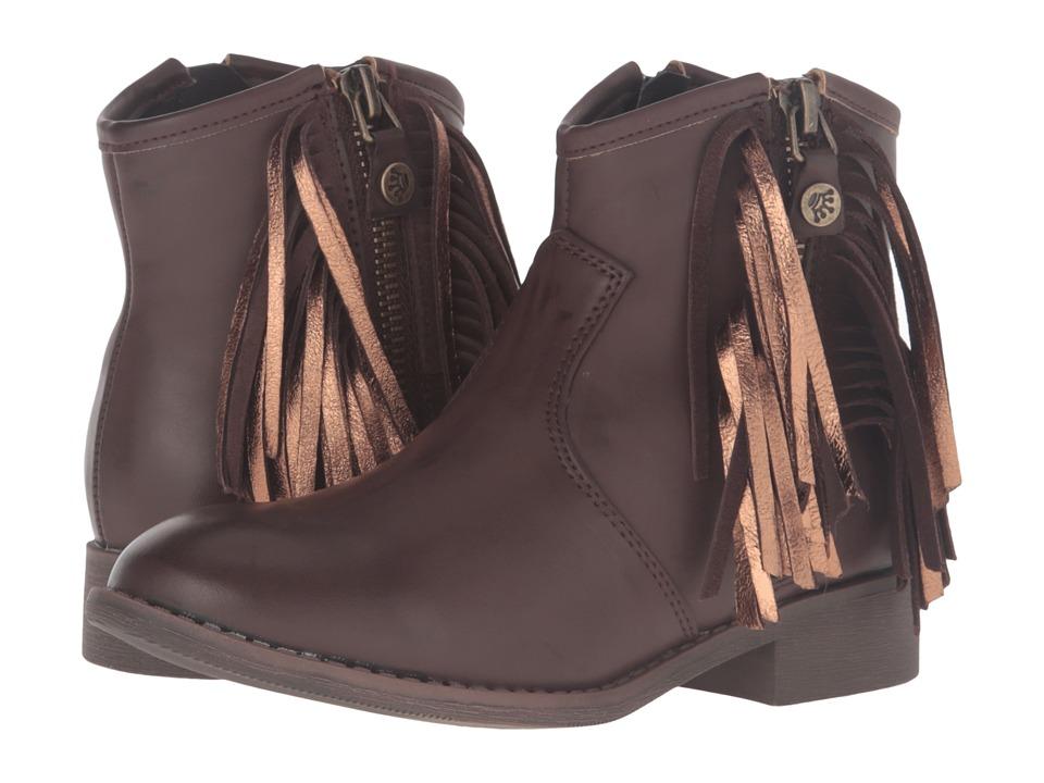 Nina Kids Anareena (Little Kid/Big Kid) (Brown Burnished) Girls Shoes