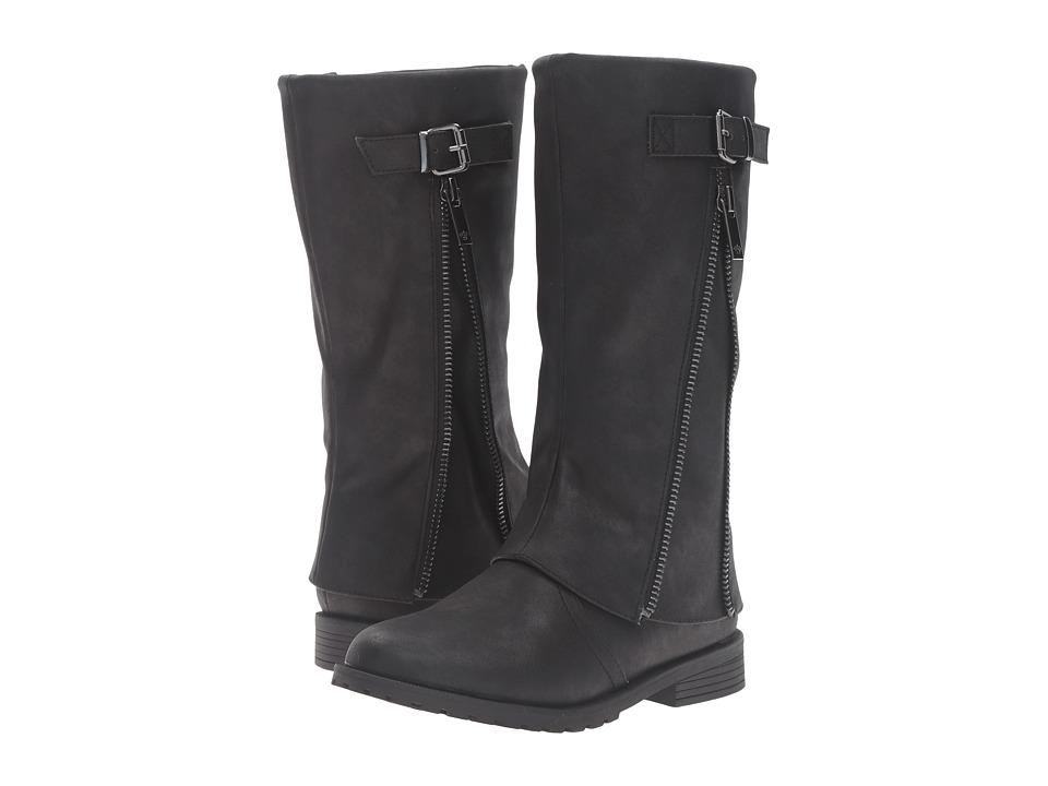 Nina Kids - Elouise (Toddler/Little Kid/Big Kid) (Black Smooth) Girls Shoes