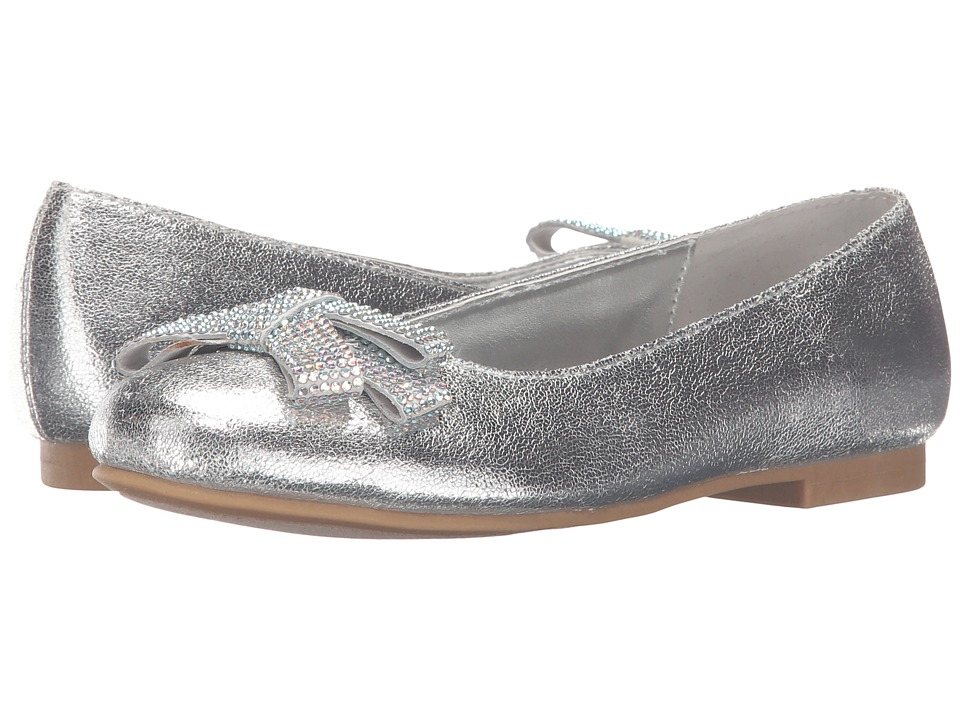 Nina Kids - Stazie (Little Kid/Big Kid) (Silver) Girls Shoes