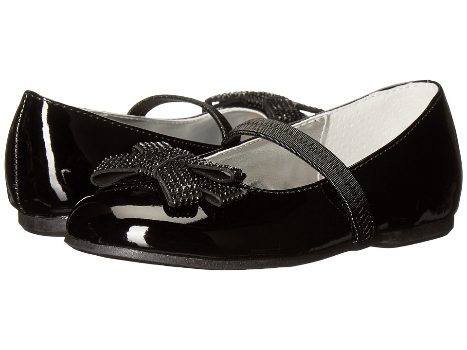 Nina Kids - Stazie-T (Toddler/Little Kid) (Black Patent) Girls Shoes