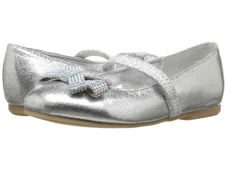 Nina Kids - Stazie-T (Toddler/Little Kid) (Silver) Girls Shoes