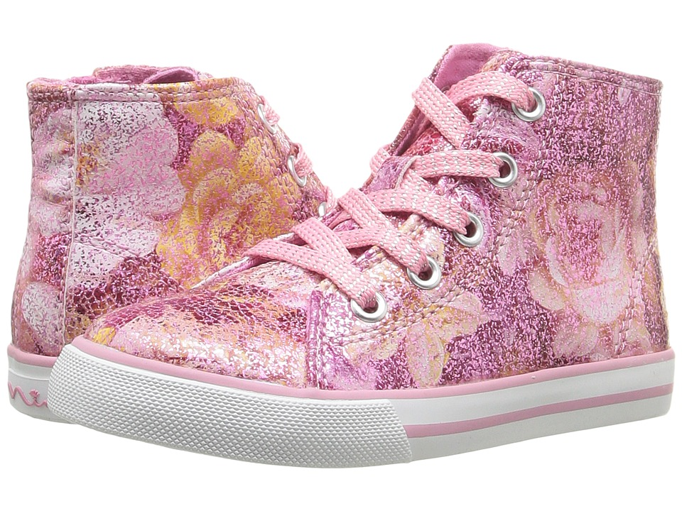 Nina Kids - Beatrisa (Toddler/Little Kid) (Pink Floral) Girl's Shoes