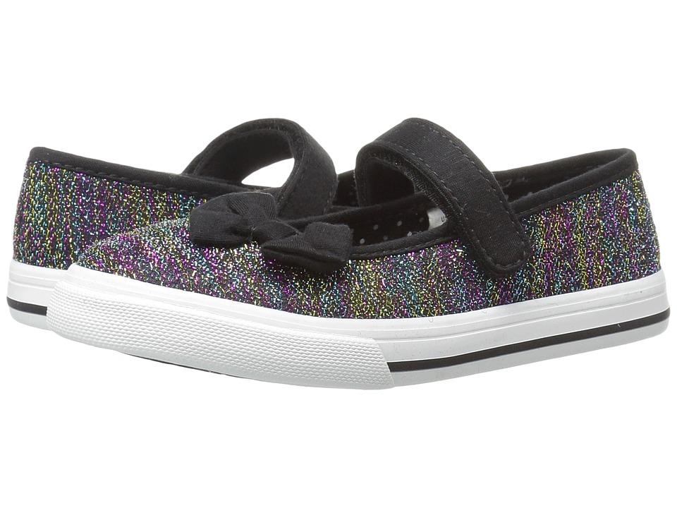 Nina Kids - Maycee (Toddler/Little Kid) (Black Shimmer) Girls Shoes
