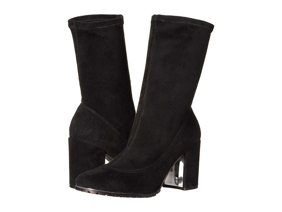Rachel Zoe - Tara (Black Stretch Suede) Women's Boots