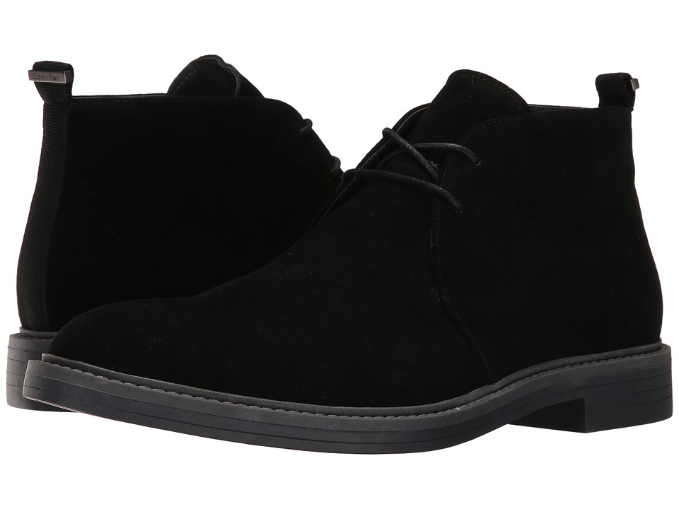 Calvin Klein Jae (Black Suede) Men