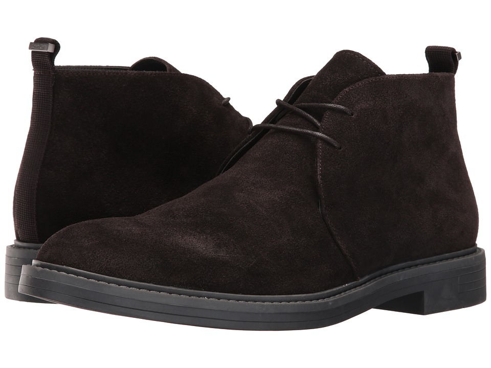 Calvin Klein Jae (Dark Brown Suede) Men