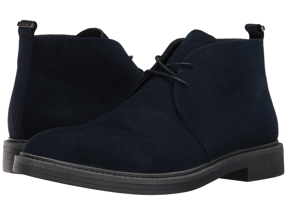 Calvin Klein Jae (Dark Navy Suede) Men