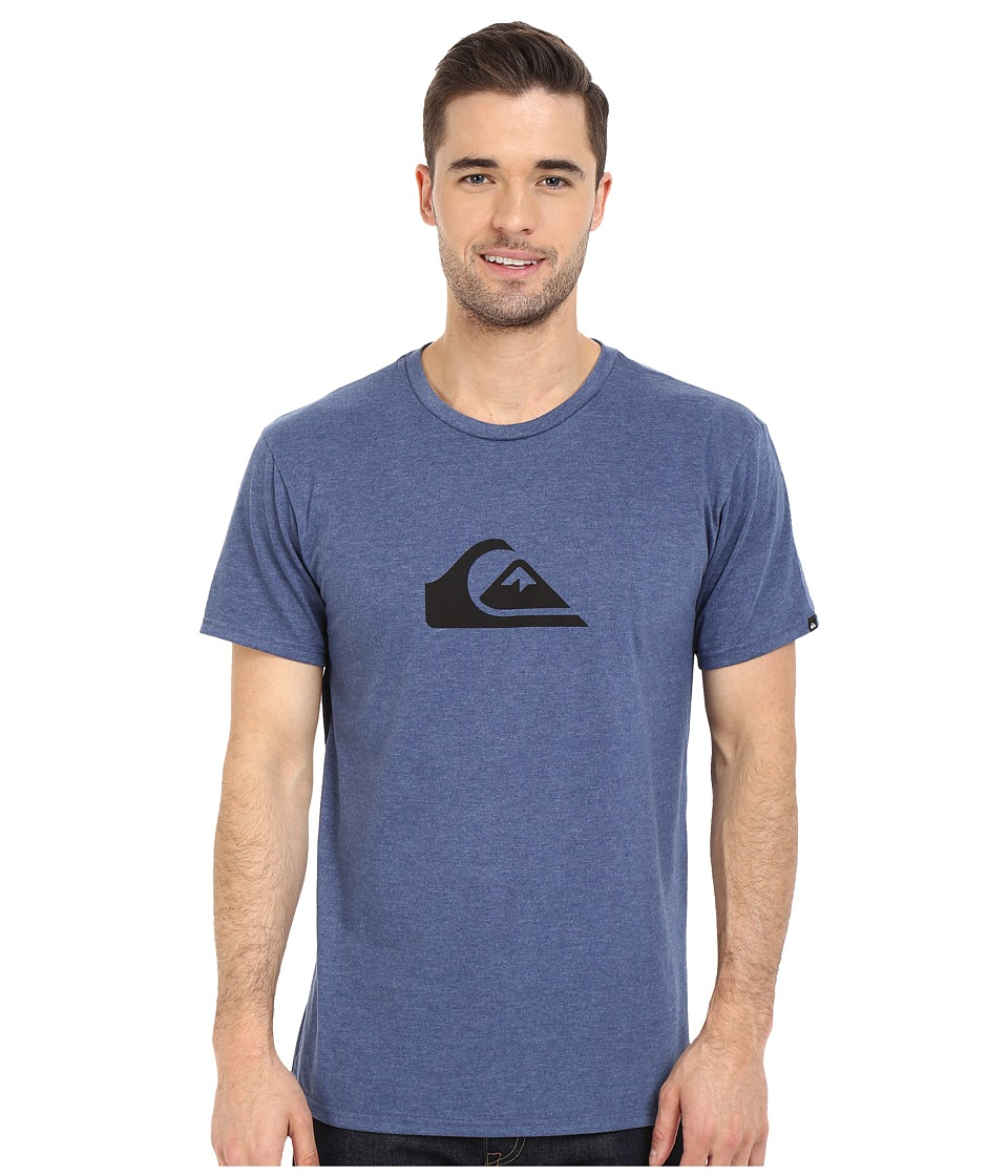 Quiksilver - Mountain Wave Tee (Dark Denim Heather 1) Men