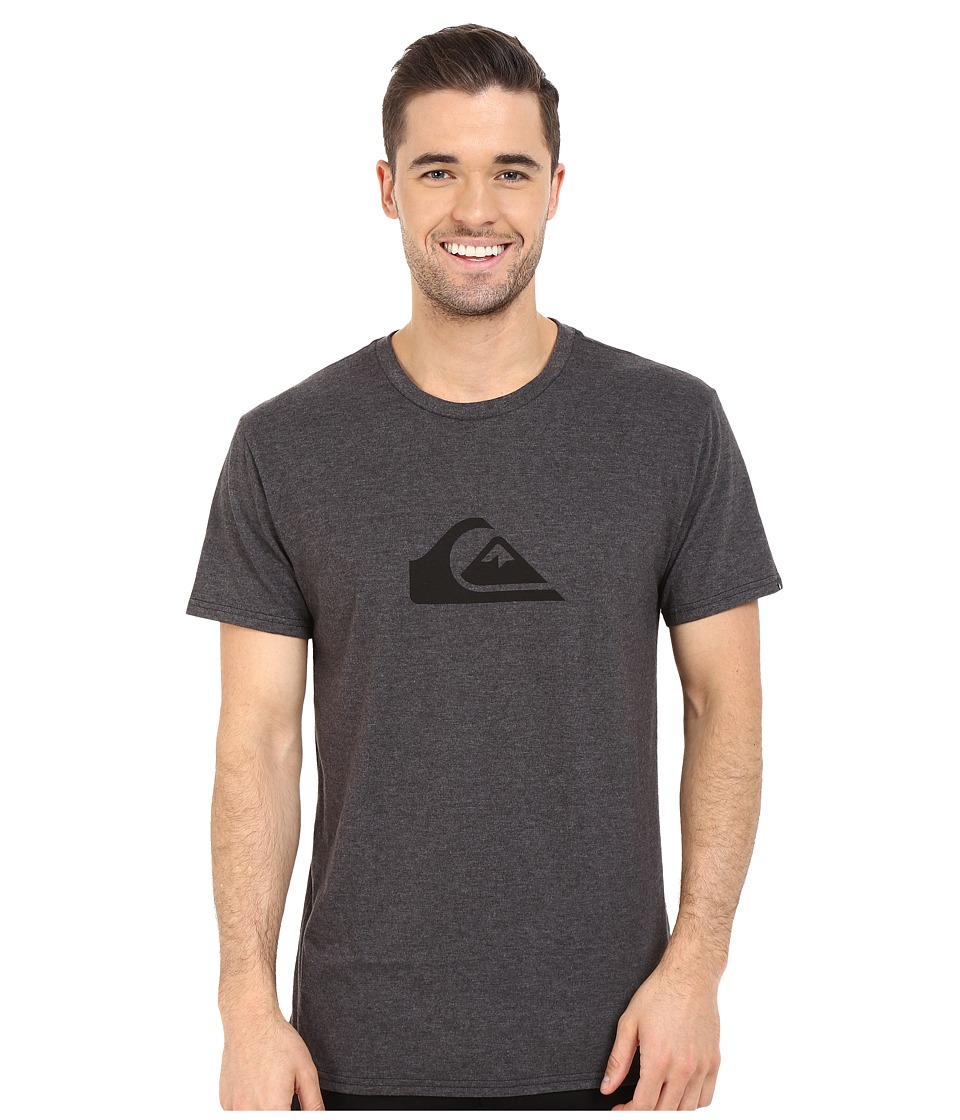 Quiksilver - Mountain Wave Tee (Charcoal Heather 1) Men's T Shirt