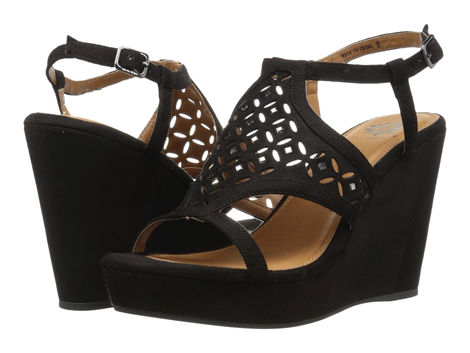 Yellow Box - Splendor (Black) Women's Dress Sandals