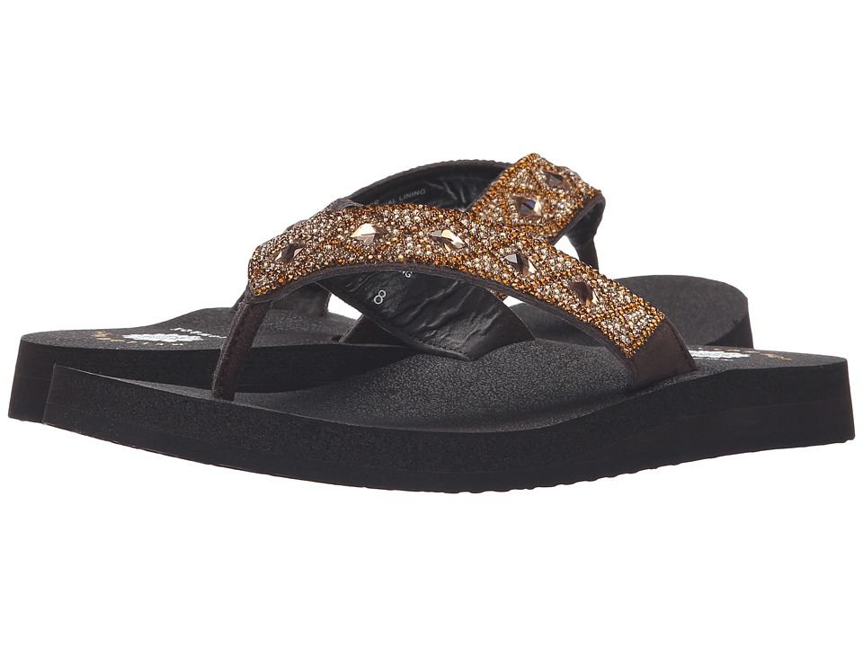 Yellow Box - Precious (Bronze) Women's Dress Sandals