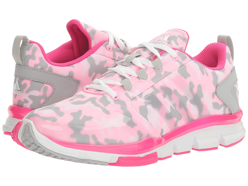 adidas - Speed Trainer 2 Camo (Pink Glo Camo/Pink Glow/Shock Pink) Women's Cross Training Shoes