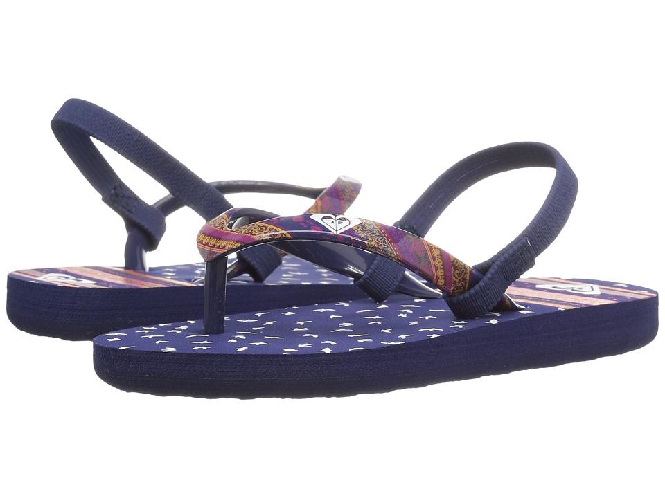 Roxy Kids - Pebbles V (Toddler) (Blue Radiance) Girl's Shoes