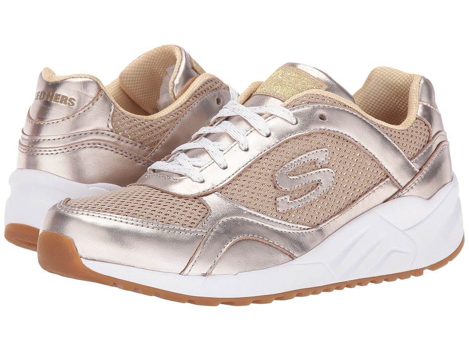 SKECHERS - OG 95 - Shine On (Gold) Women's Lace up casual Shoes