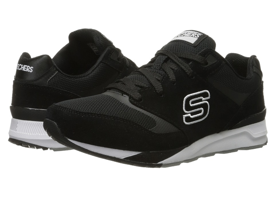 SKECHERS - OG 90 - Rad Runners (Black/White) Women's Lace up casual Shoes