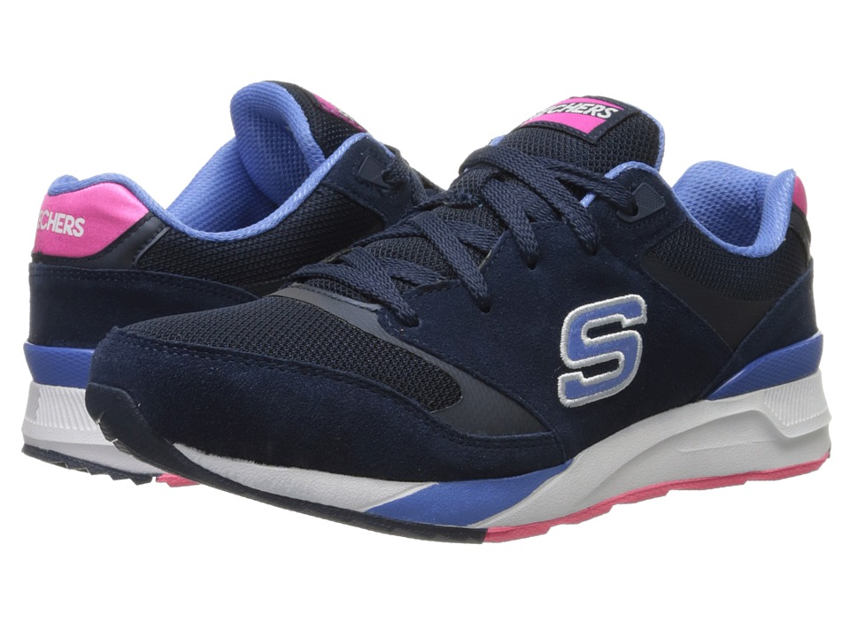 SKECHERS - OG 90 - Rad Runners (Navy Blue) Women's Lace up casual Shoes
