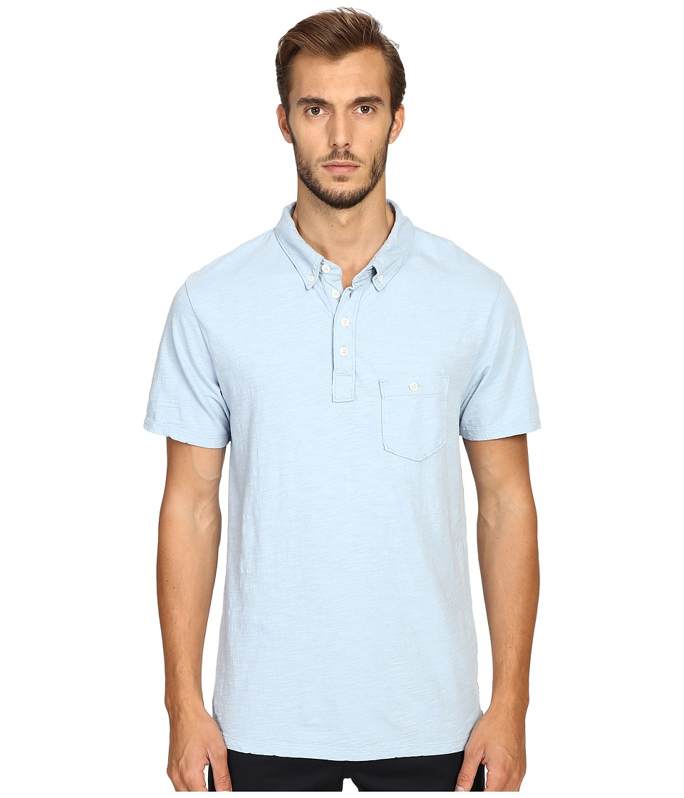 Todd Snyder - Weathered Pocket Polo (Pale Surf) Men's Clothing