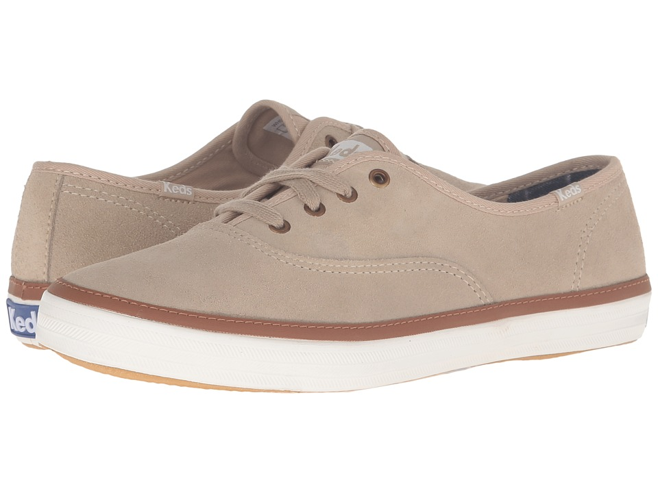 Keds Champion Suede (Tan) Women