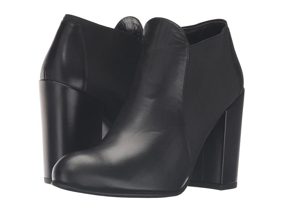 Stuart Weitzman - Slipup (Nero Old West Calf) Women's Shoes