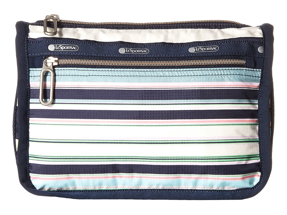 LeSportsac - Everyday Cosmetic Case (Beach Stripe) Cosmetic Case