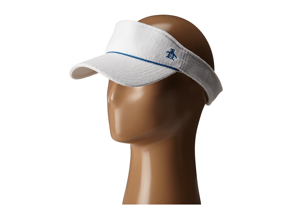 Original Penguin - Terry Cloth Visor (Bright White) Casual Visor