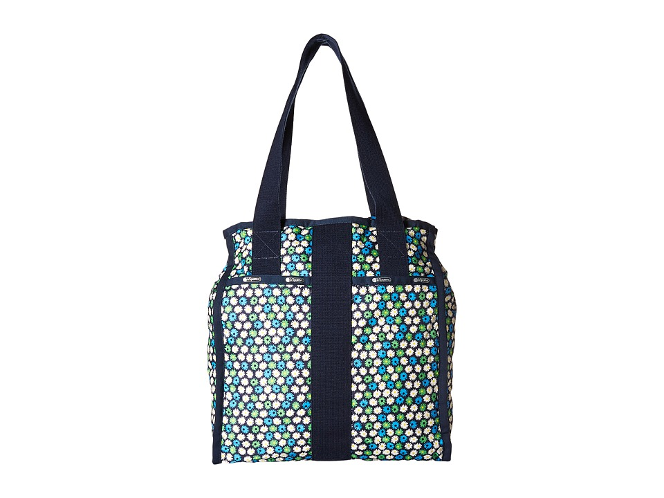 LeSportsac Luggage - City Tote (Travel Daisy) Tote Handbags