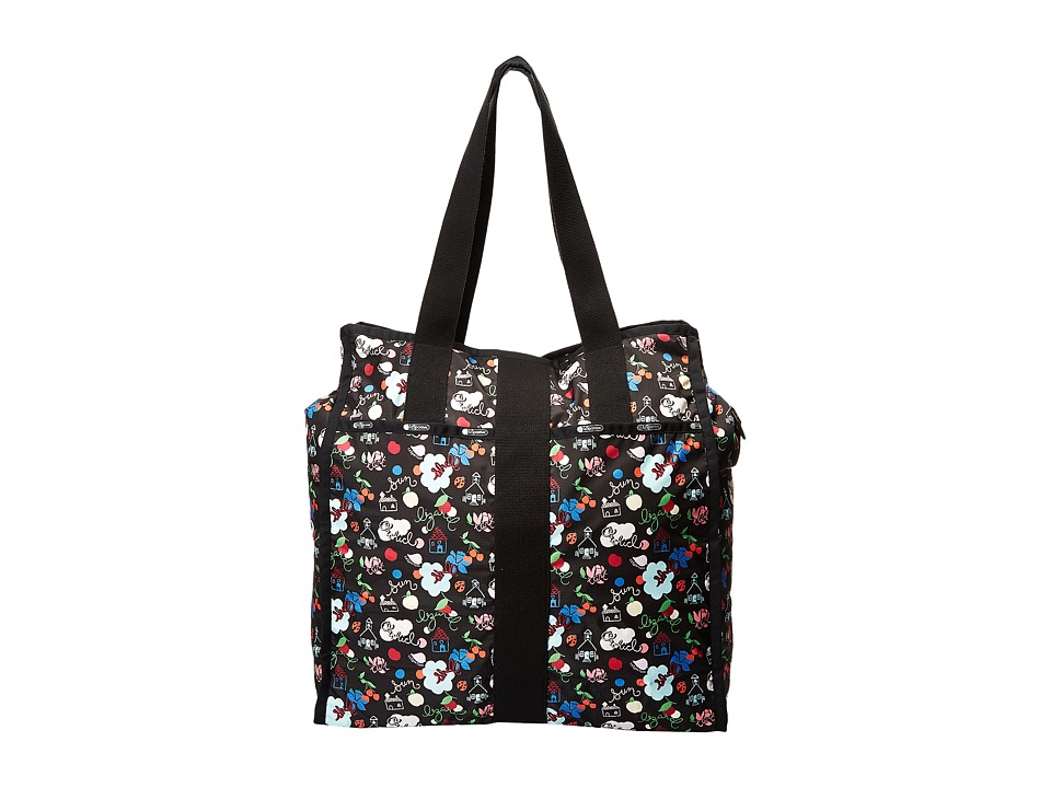 LeSportsac Luggage - Large City Tote (School s Out) Tote Handbags
