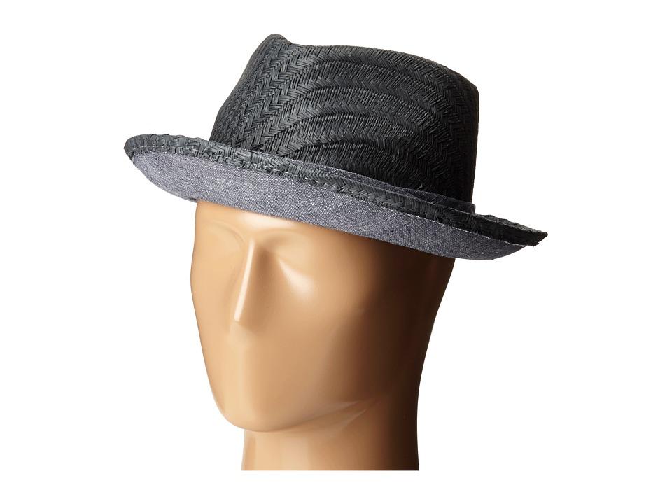 Original Penguin - Straw Fedora (Castlerock) Fedora Hats