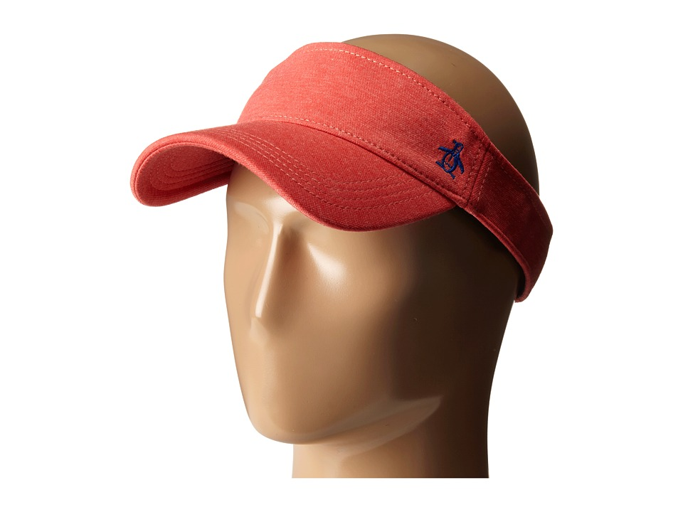 Original Penguin - Cut Sew Knit Stretch Hat (Red) Caps